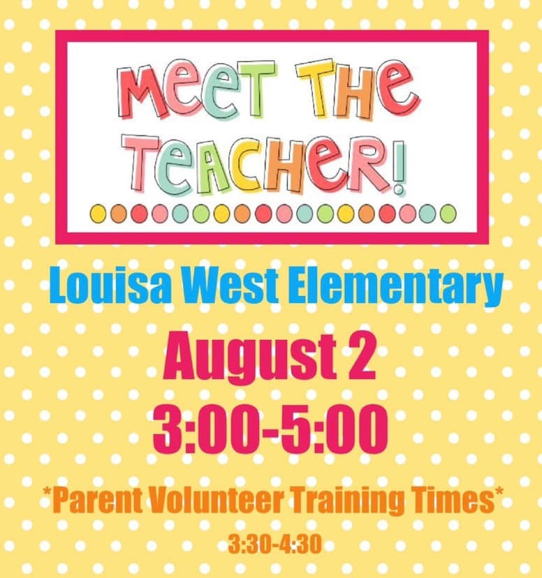 LWES Meet the Teacher