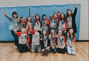 Louisa East Academic Team Wins Districts