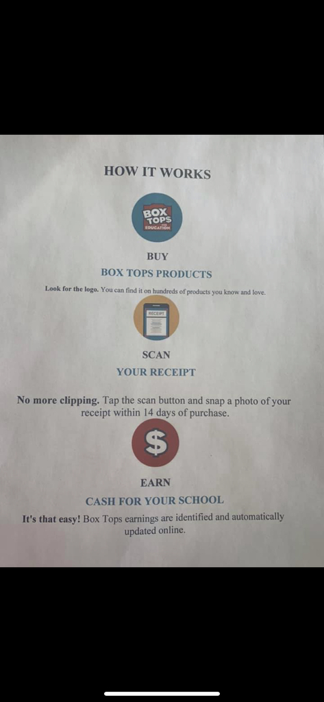 No more clipping! Please follow these instructions to help our school earn money.