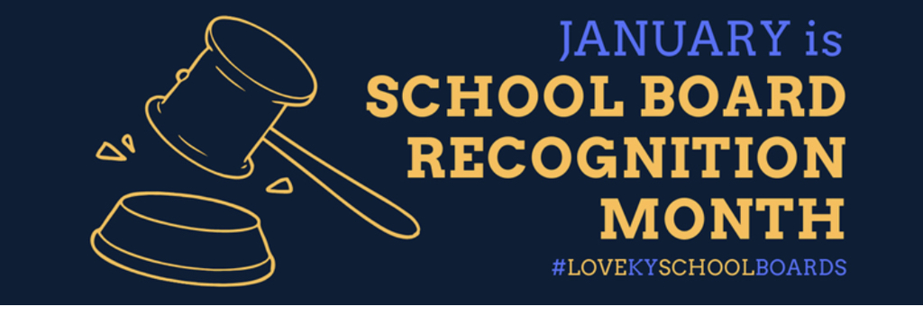 School Board Recognition Month.
