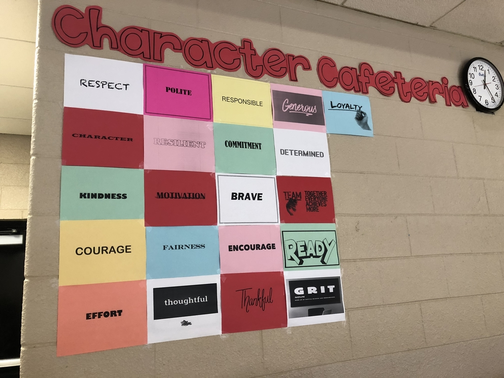 Character Cafeteria Wall