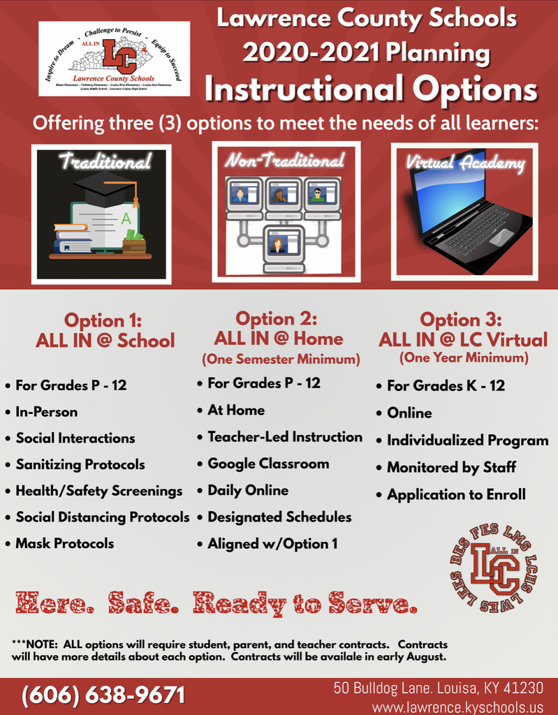 Instructional Options